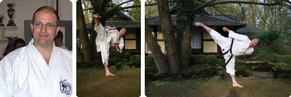 Diplom Karatelehrer Sensei Karl-Hans König, 6. Dan Karate 2. Dan Kobudo