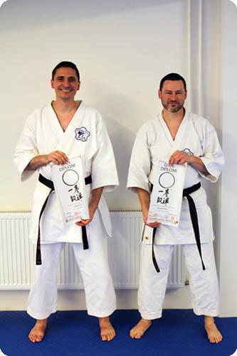 Dan Prüfungen Karate im Budocenter Steinen 2010