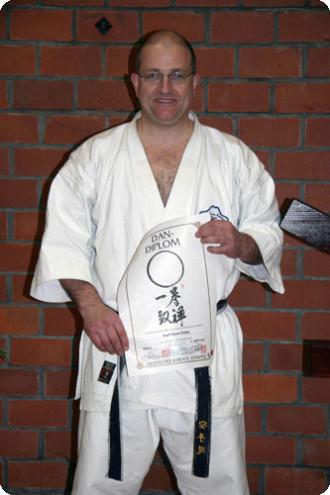 Dan Prüfungen Karate im Budocenter Steinen Karl-Hans König