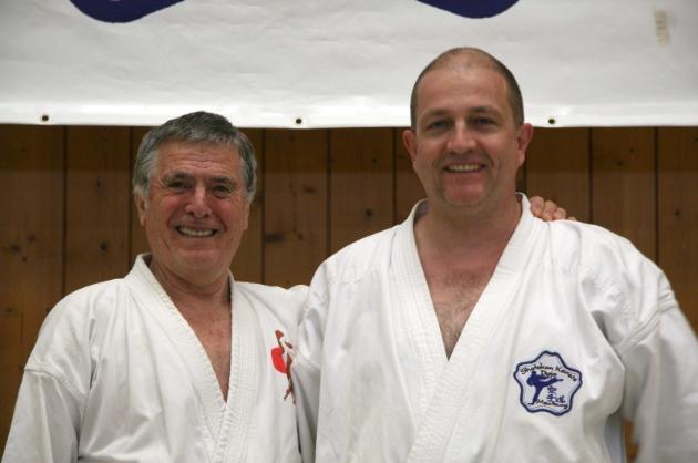 Dan Prüfungen Karate im Budocenter Steinen Karl-Hans König im Fudokan 6. Dan