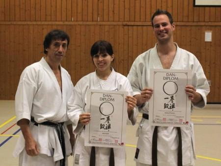 Dan Prüfungen Karate im Budocenter Steinen 2011