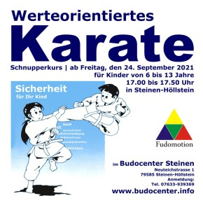 Budocenter Karate für Kinder Kinderkarate