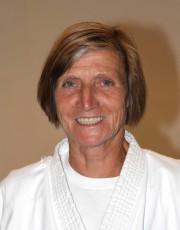 Diplom Karatelehrerin Irmi Klemm 4. Dan