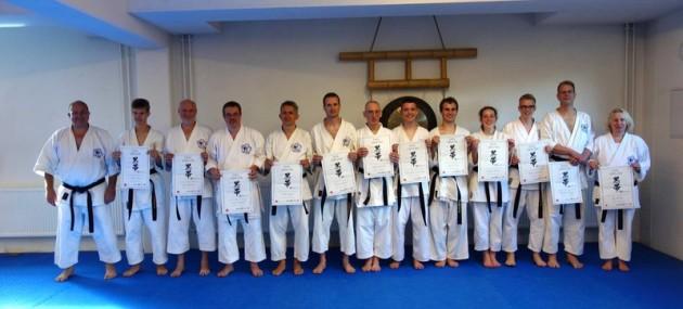 Dan Prüfungen Karate im Budocenter Steinen 2013