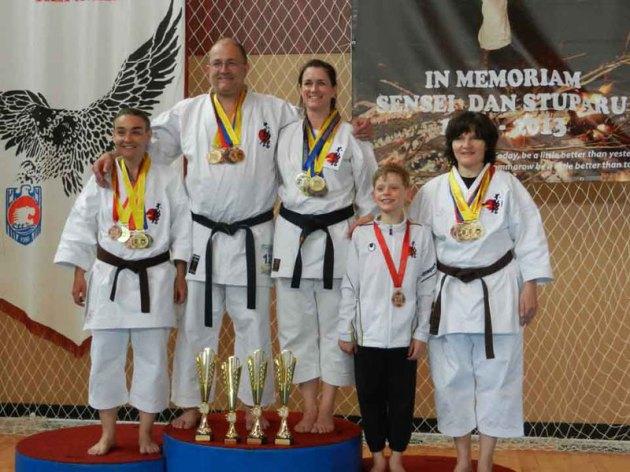 3 x Europameister 2014 Diplom Karatelehrer Sensei Karl-Hans König, 6. Dan Karate 2. Dan Kobudo