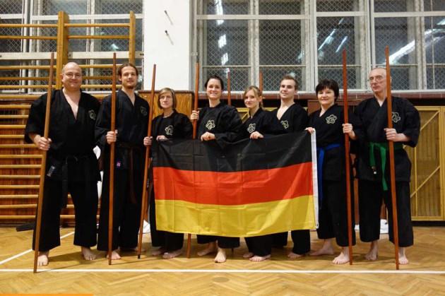 Viezeweltmeister Kobudo 2013 Diplom Karatelehrer Sensei Karl-Hans König, 6. Dan Karate 2. Dan Kobudo